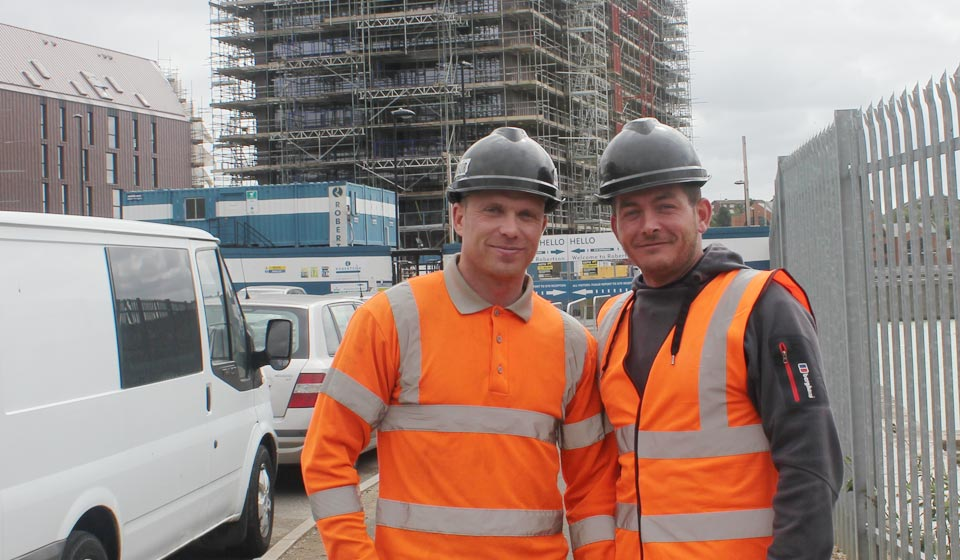 Qualified scaffolders in Newcastle